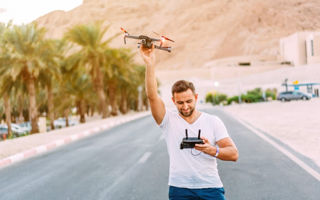 When Professionals Run Into Problems With Drone In Desert